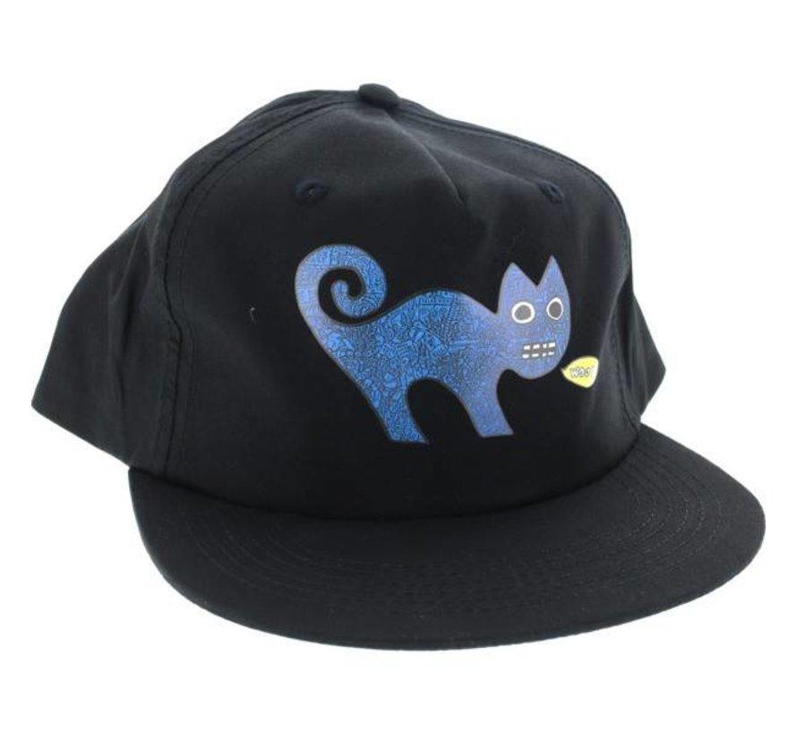 Toy Machine Templeton Cat Unstructured Cap Zwart