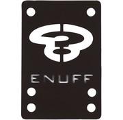 Enuff Skateboards Enuff shockpads 1mm zwart