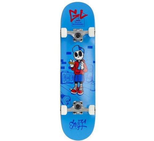 Enuff Skateboards Enuff Skully 7.25'' Mini Skateboard Blauw