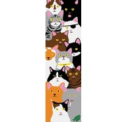 Enjoi Skateboards Enjoi Cat Collage 9'' Griptape Sheet
