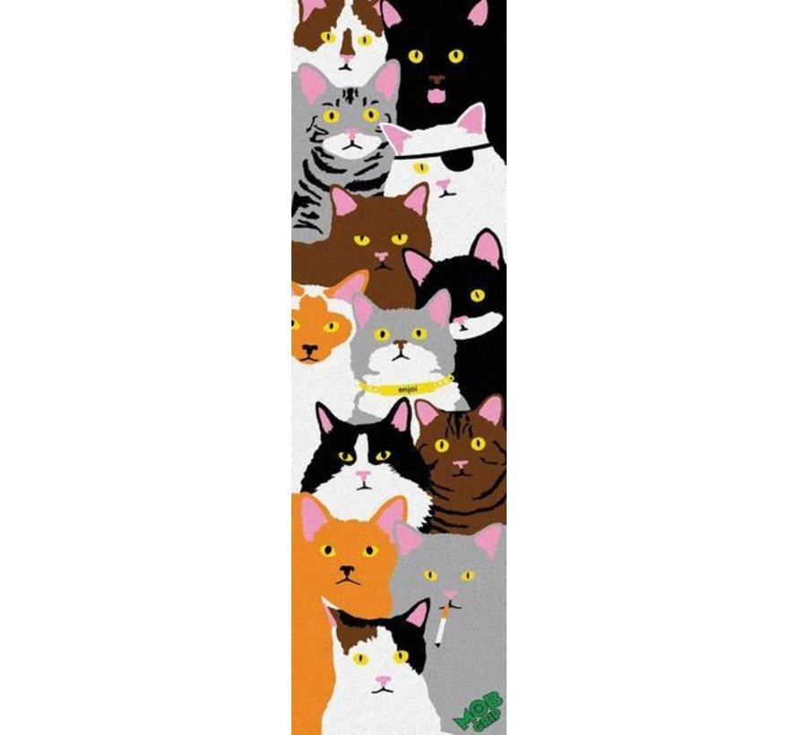 Enjoi Cat Collage 9'' Griptape Sheet
