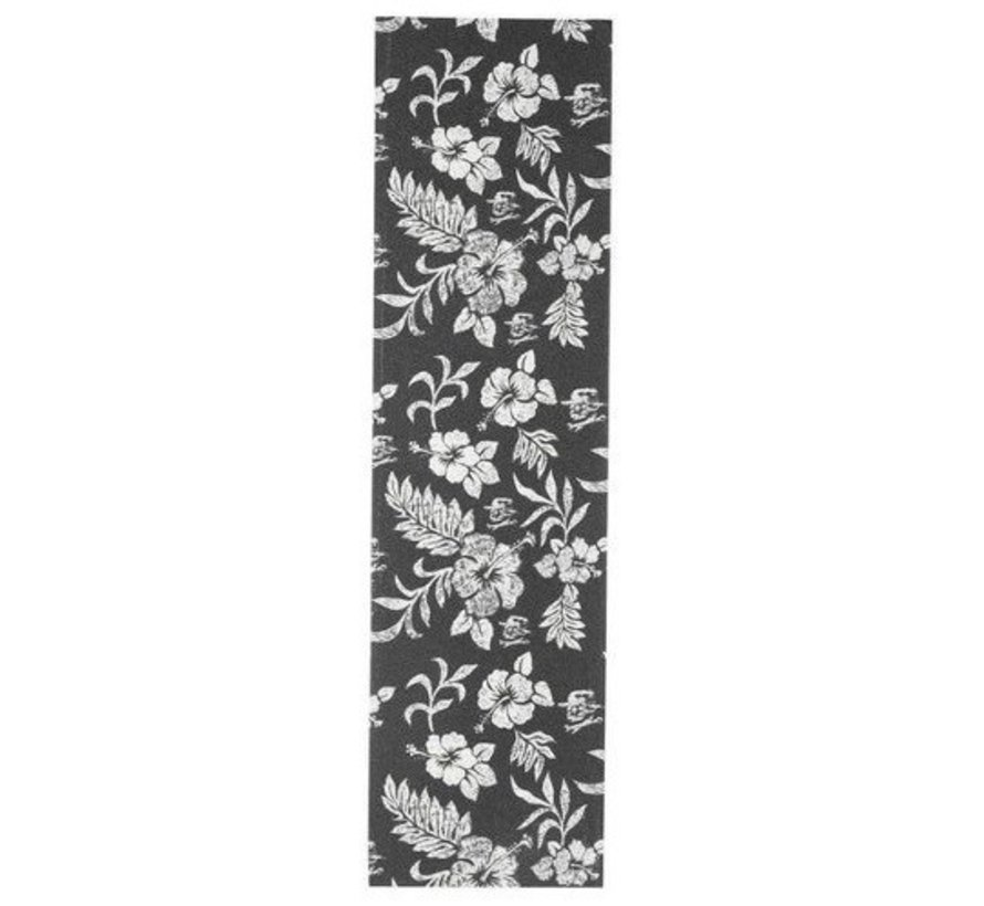 Hard Luck Clear Floral Skateboard Gritpape