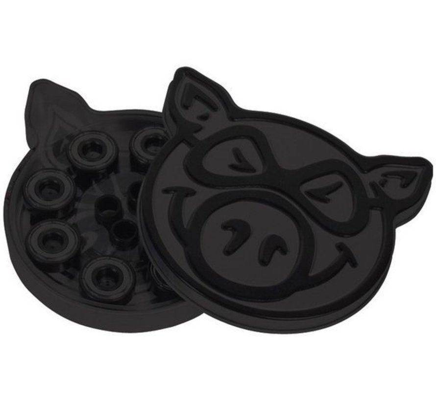 Pig Wheels Black Ops Pig Tin Skateboard Lagers