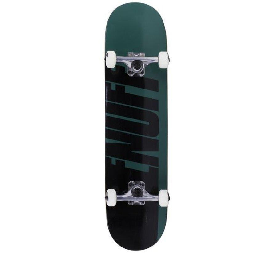 Enuff Half Stain 8'' Skateboard Groen