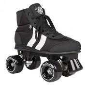 Rookie Rollerskates Rookie Retro Rolschaatsen Zwart-Wit