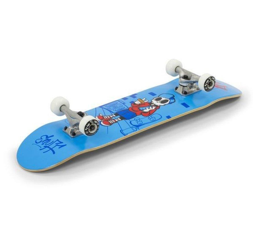 Enuff Skully 7.25'' Mini Skateboard Blauw