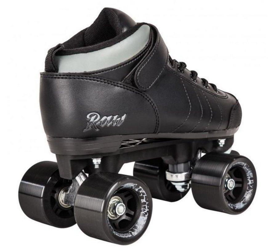 Rookie Rollerskates Raw Zwart