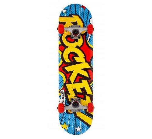 Rocket Skateboards Rocket Popart 7.5'' Mini Skateboard