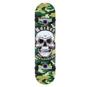 Rocket Skateboards Rocket Combat Skull 7.75'' Skateboard