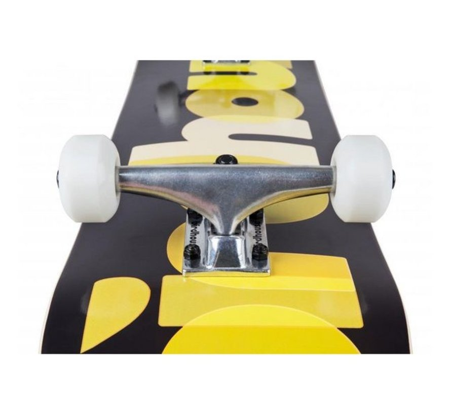 Birdhouse Stg 1 Opacity 8'' Skateboard Yellow