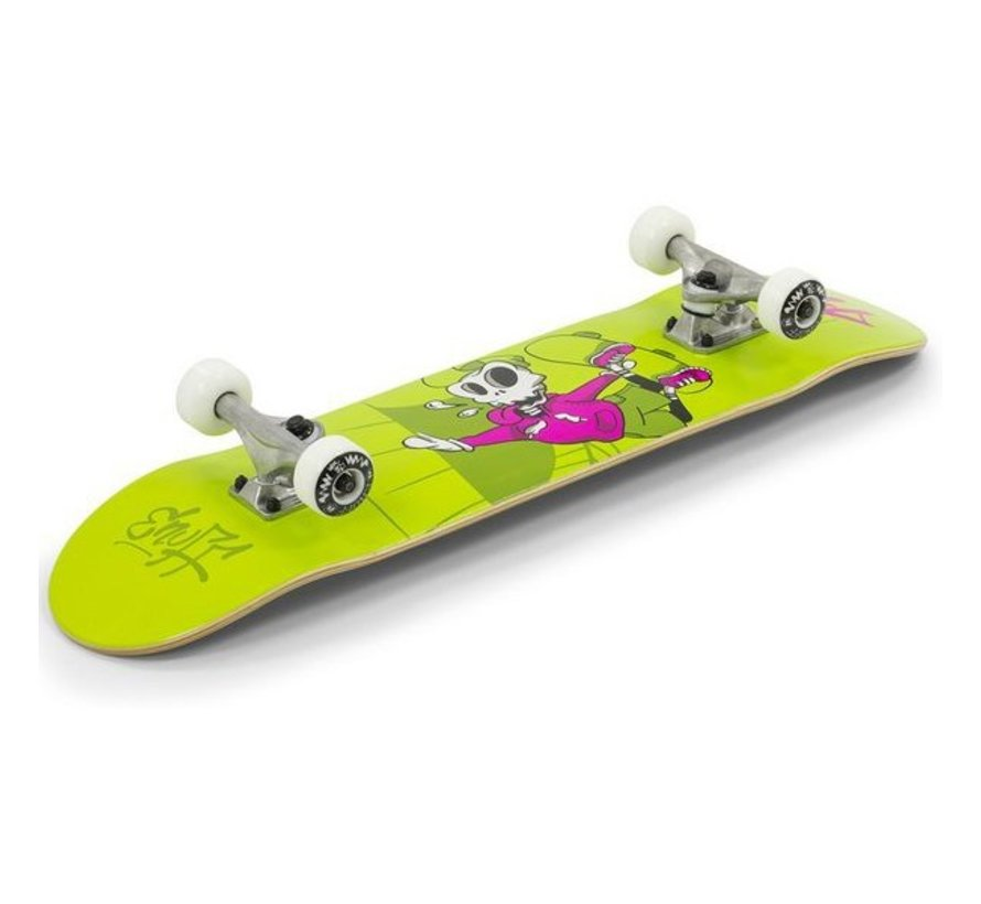 Enuff Skully 7.25'' Mini Skateboard Groen