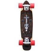 D-Street D-Street Rose Live Fast 23'' Cruiser Skateboard