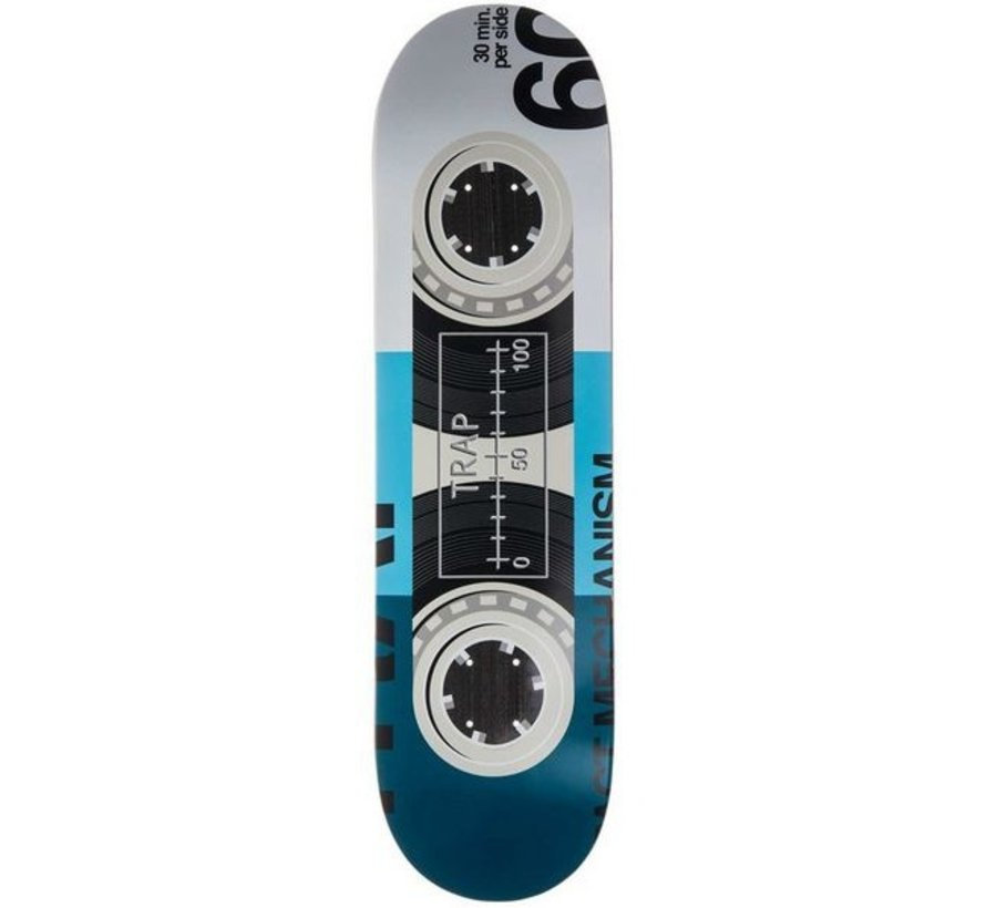 Trap Impact Tape Blue 8.1'' Skateboard Deck