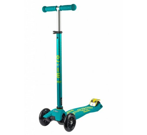 Micro Scooters Micro Maxi Deluxe Petrol Kinderstep Green