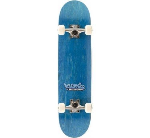 Voltage Voltage Logo 7.5 Skateboard Blauw