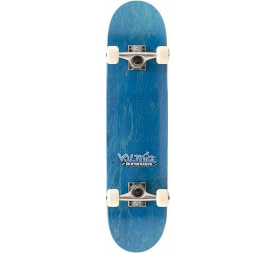 Voltage Logo 7.5 Skateboard Blauw
