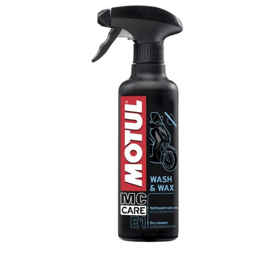 E1 Wash & Wax - Motul