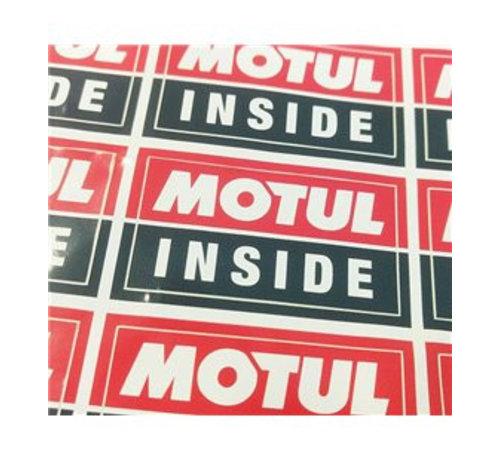Motul Motul Inside Sticker Sheet - Motul