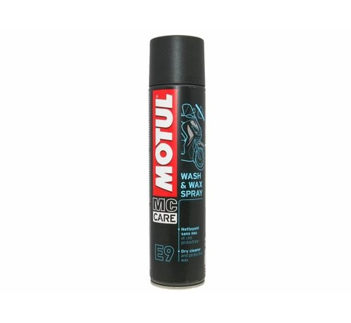 Motul E9 Wash & Wax Spray - Motul