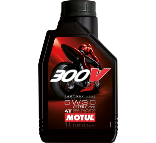 Motul 300V 4T Fl Road Racing 5W30 - Motul