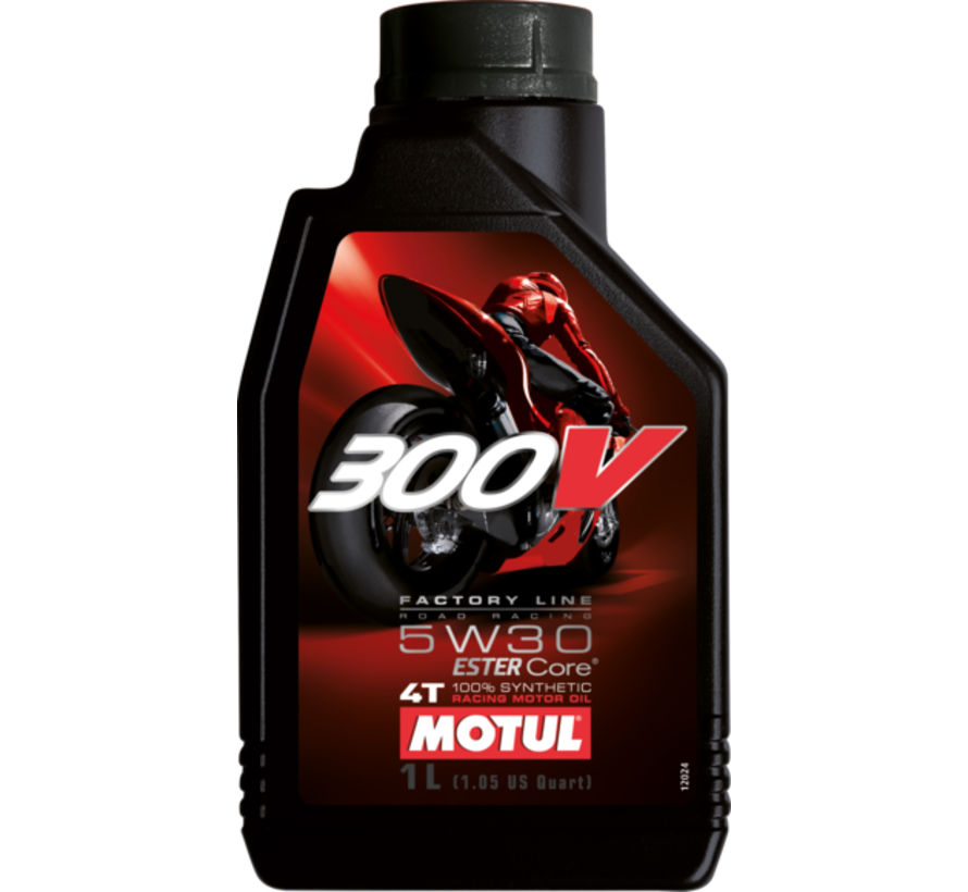 300V 4T Fl Road Racing 5W30 - Motul
