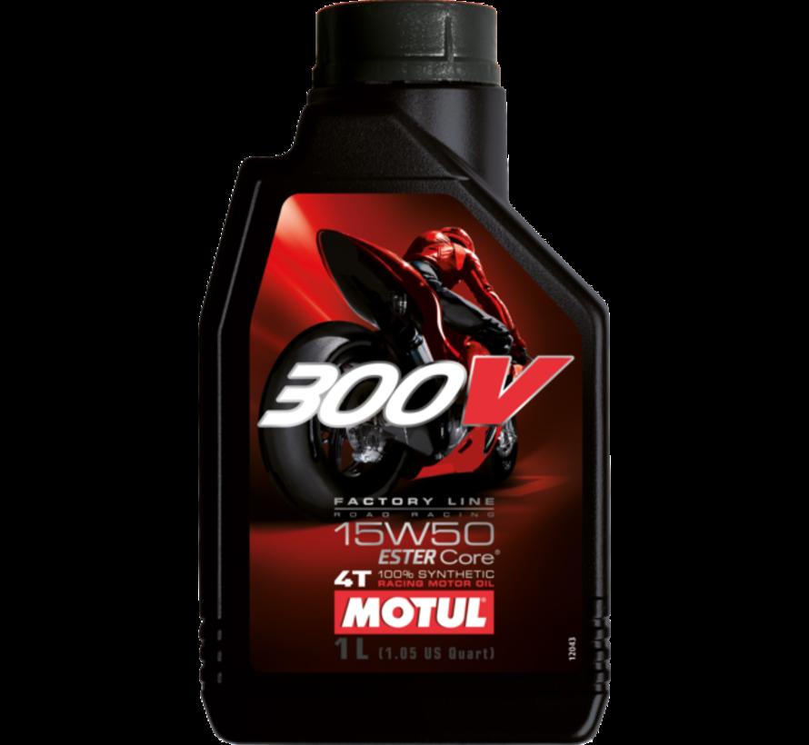 300V 4T Fl Road Racing 15W50 - Motul