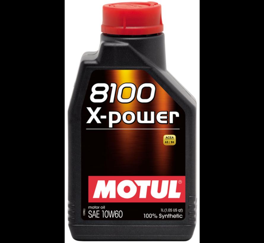 8100 X-Power 10W60 - Motul