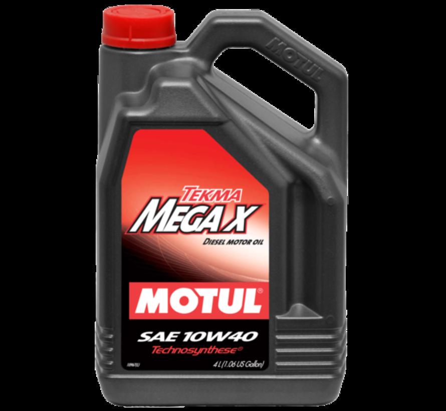 Tekma Mega X 10W40 - Motul