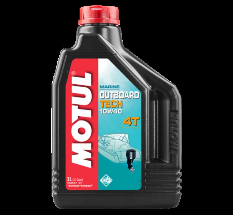 Outboard Tech 4T 10W40 - Motul