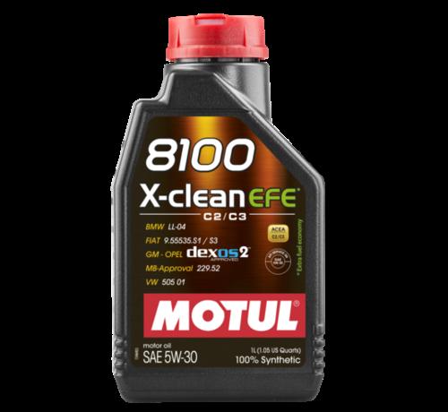 Motul 8100 X-Clean Efe 5W30 - Motul