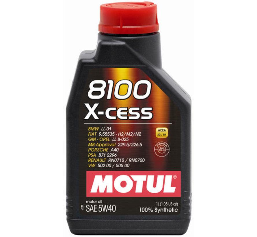 8100 X-Cess 5W40 - Motul