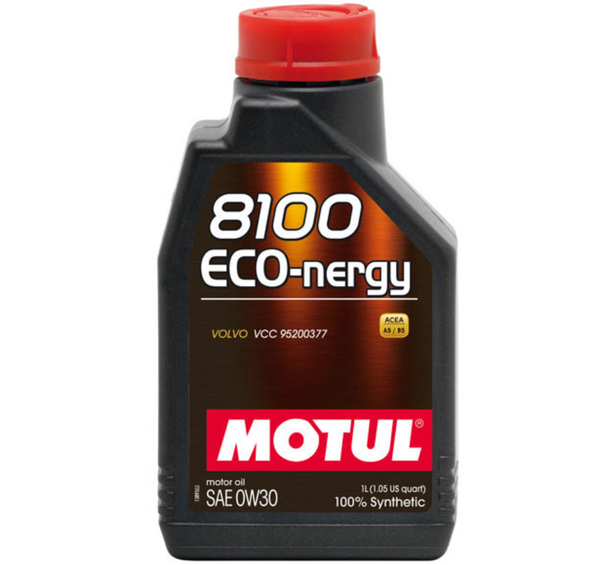 8100 Eco-Nergy 0W30 - Motul
