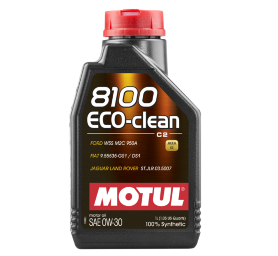 8100 Eco-Clean 0W30 - Motul