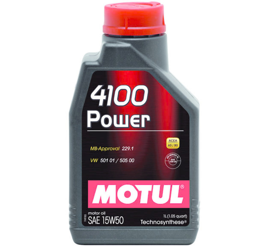 4100 Power 15W50 - Motul