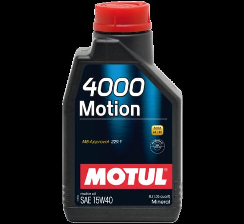 Motul 4000 Motion 15W40 - Motul