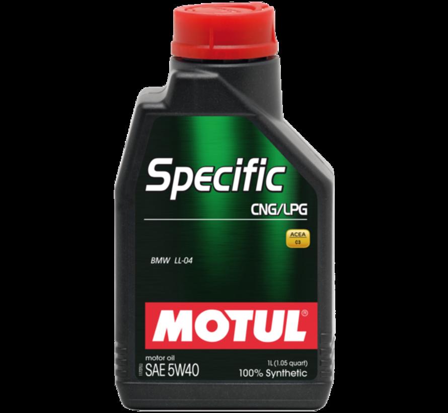 Specific Cng/Lpg 5W40 - Motul