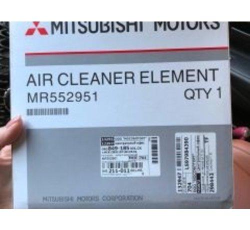 Mitsubishi  luchtfilter lancer evo 5/6 original MR552951