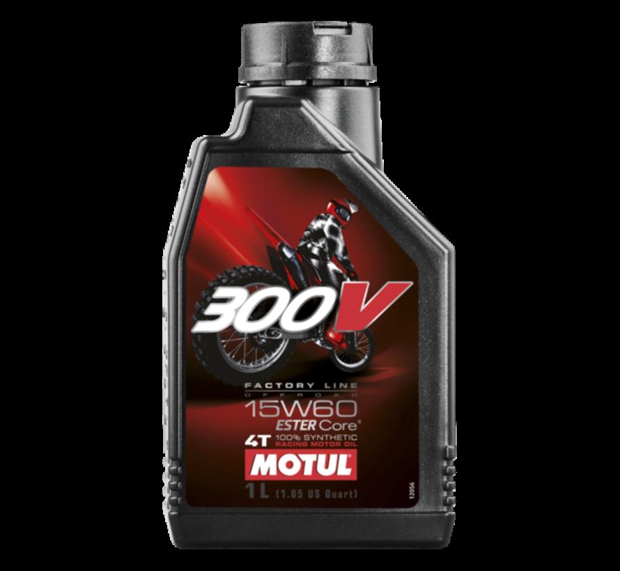 300V 4T Fl Off Road 15W60 - Motul
