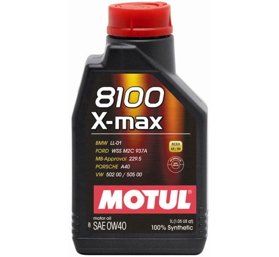 8100 X-Max 0W40 - Motul
