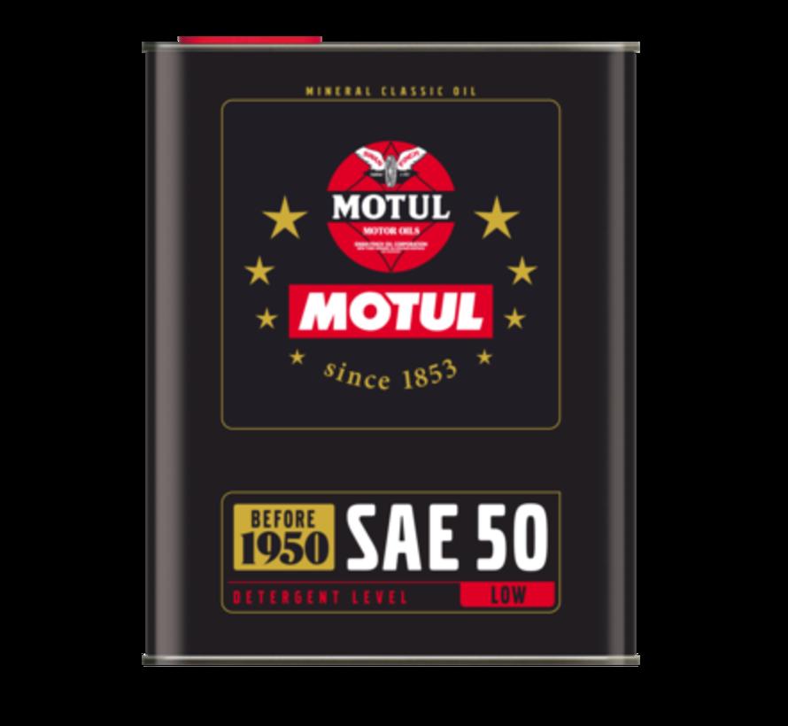 Classic Oil Sae 50 - Motul