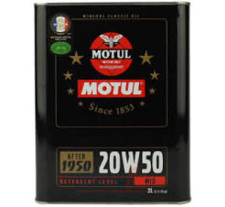 Classic Oil 20W50 - Motul