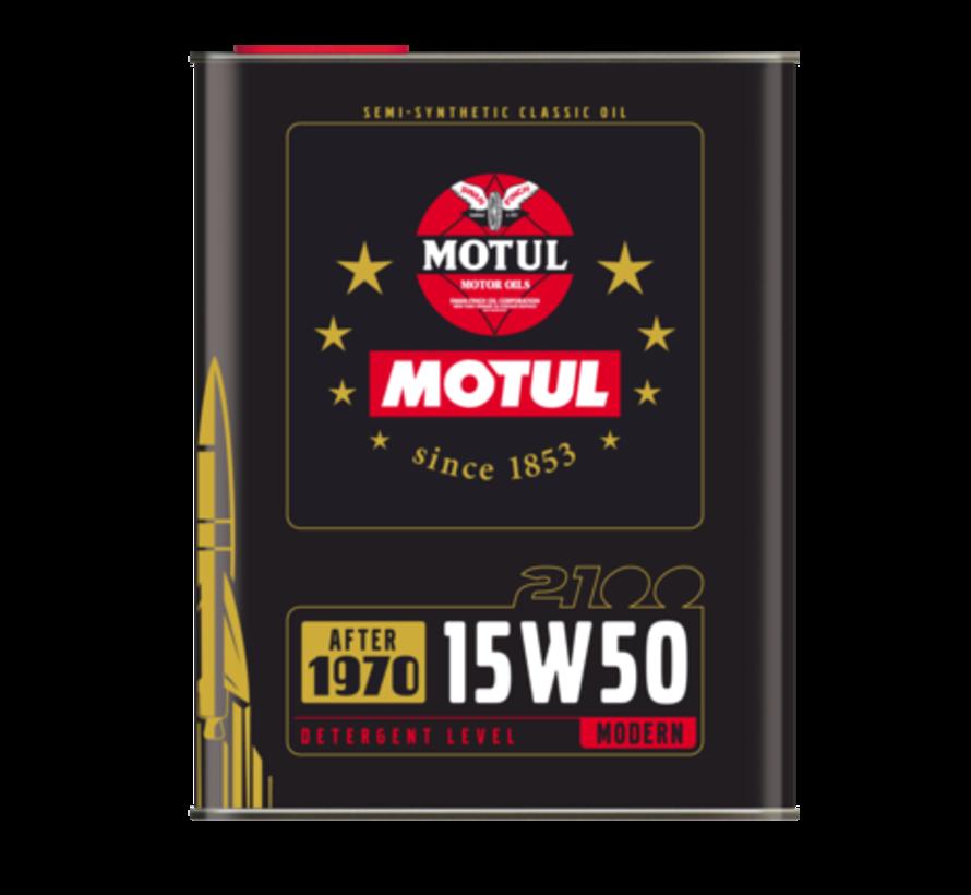 Classic Oil 2100 15W50 - Motul