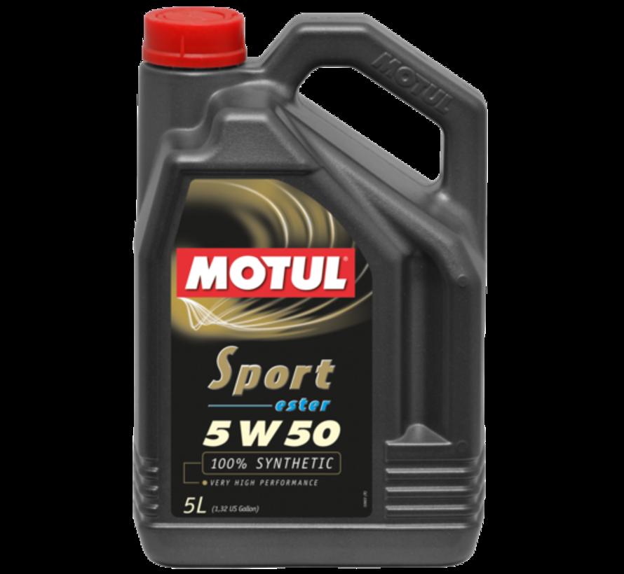 Sport 5W50 - Motul