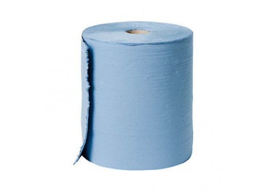 blauw poets papier