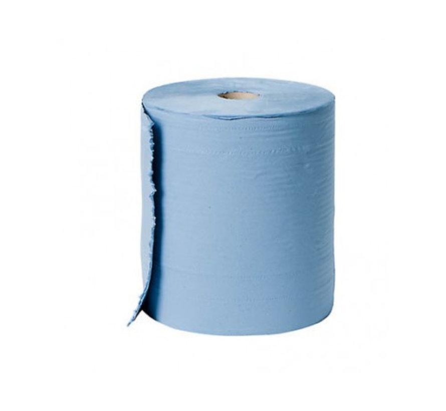 blauw poets papier 24 cm breed