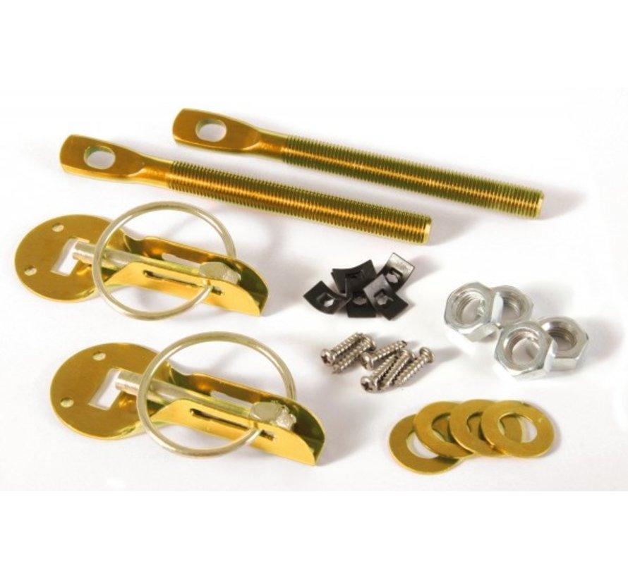 MOTORKAPSLUITINGEN aluminium goud