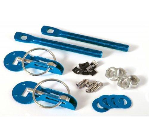 Molkenboer Autosport  Motorkapsluiting aluminium blauw