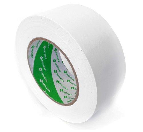 Nichiban Nichiban Gaffa Tape Wit 50Meter lang 50MM breed