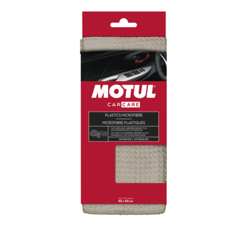 Motul MOTULå¨ Car Care Plastics-microvezel