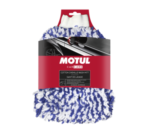 Motul MOTUL® Car Care Cotton Chenille Wash Mitt